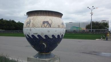 Random Urn in Gorky Park
