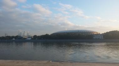 Aparently the biggest stadium in Russia