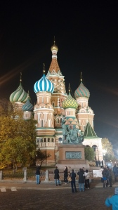 Again, St. Basil, this time at night.