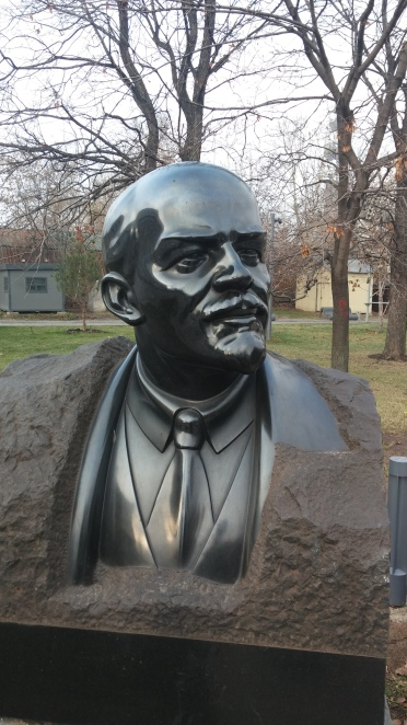 stern, sleak Lenin