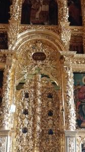Interior of Church of St. Sergius