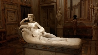 Napoleon's sister- in classical style