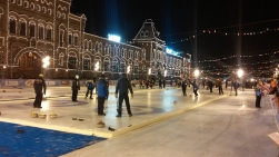 Curling on the Red Square