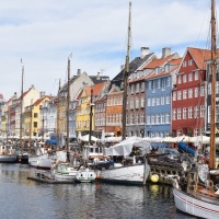 Wordless Wednesday: Colourful Copenhagen